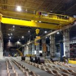 Coil Handling Crane with C Hook
