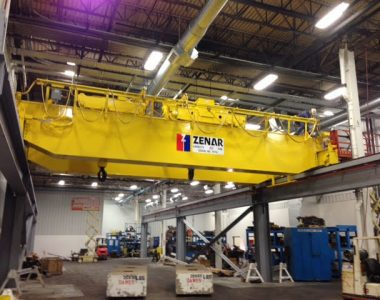 Double Hoist-Trolley Overhead Crane