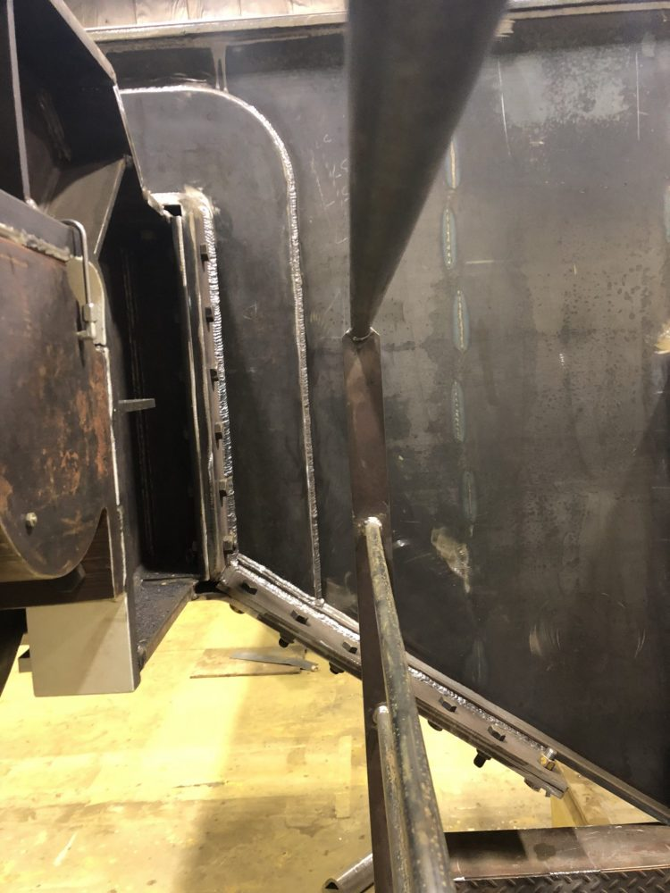 Girder Endtruck Connection