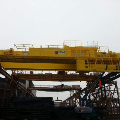 Outdoor Billet Handling Crane